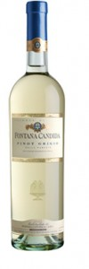 Bottle of Pinto Grigio WIne